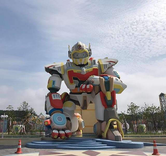 Christie powers world's first robot theme park