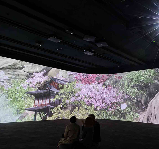 Christie brings culture to life at Korean museum